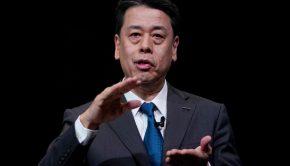 CEO Makoto Uchida of Nissan