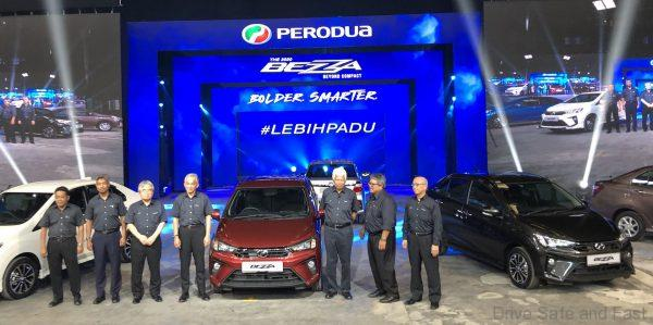Perodua Bezza 2020 Model Launched