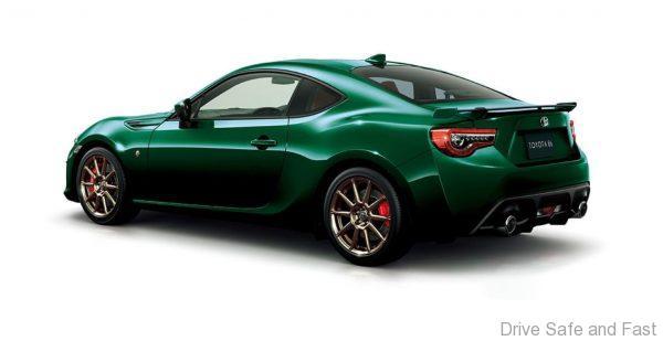Toyota GT 86 British Racing Green Edition