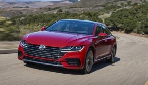 Volkswagen Arteon 2020 model with 272PS