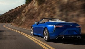 LEXUS LC Convertible launched