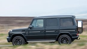 Mercedes-Benz G-Wagen.