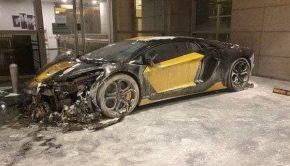 Lamborghini Aventador Ablaze