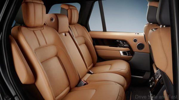 Range Rover Fifty special edition_rear seat