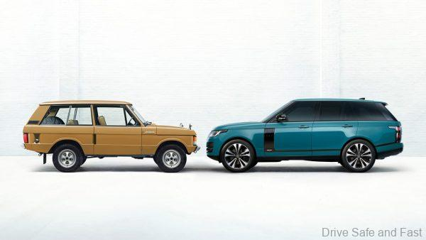 Range Rover Fifty special edition_green