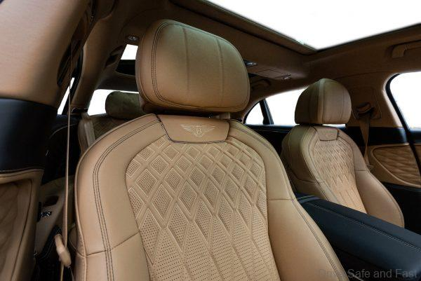 Bentley Flying Spur_leather seats