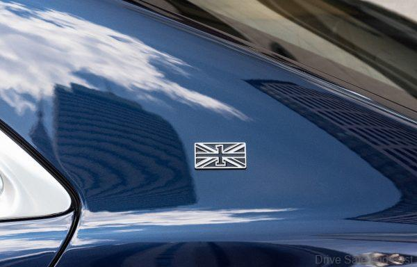 Bentley Flying Spur_first edition badge