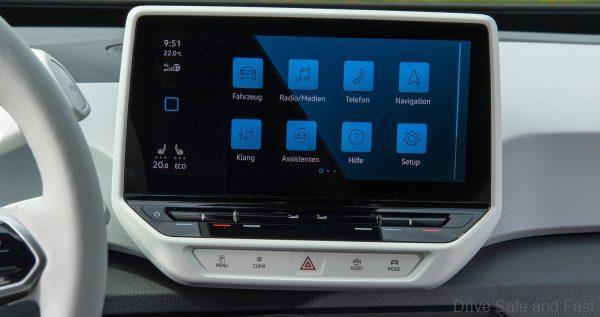 car infotainment system