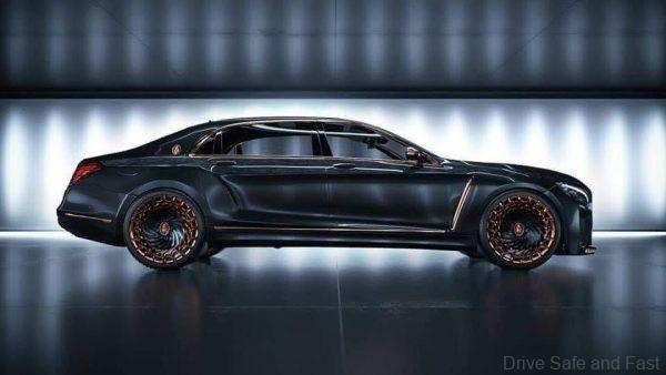 EMPEROR Tuned Mercedes-Benz S-Class_side view