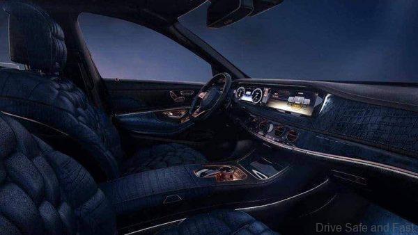 EMPEROR Tuned Mercedes-Benz S-Class_cockpit