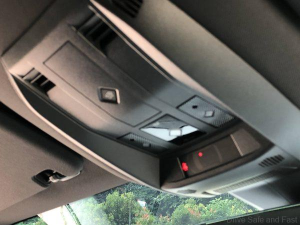 DS 7 Crossback SUV roof lining